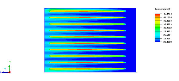 Finned-Heat-Sink-Simulation-Temperature-Contour-Topview.jpg
