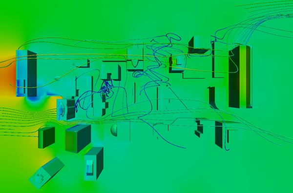 Air-Flow-Around-City-Buildings-Simulation-OpenFOAM-Velocity-Streamlines-Pressure-Contour-Top-View.jpg