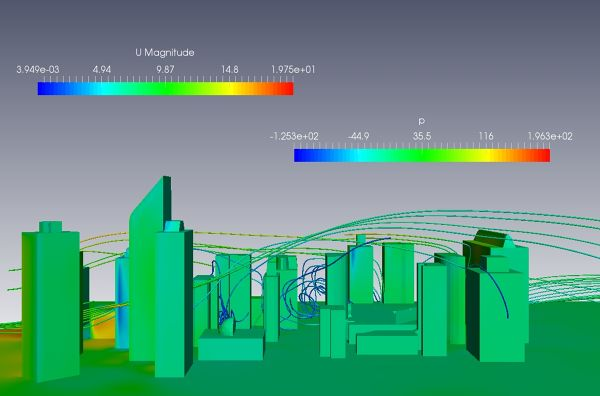 Air-Flow-Around-City-Buildings-Simulation-OpenFOAM-Velocity-Streamlines-Pressure-Contour.jpg
