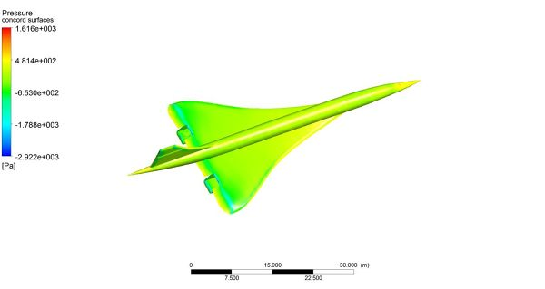 Concorde-Simulation-ANSYS-Fluent-Pressure-Contour-FetchCFD.jpg