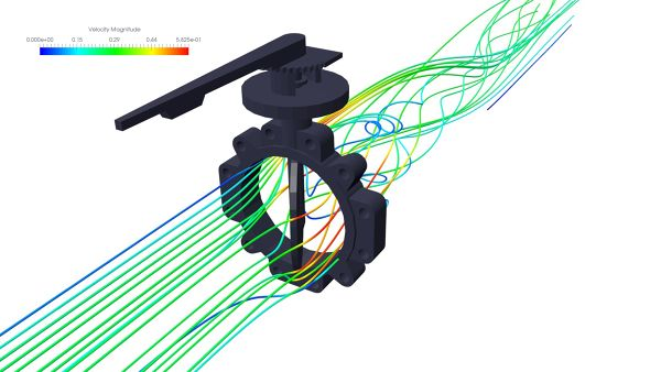 Butterfly-Valve-Simulation-ANSYS-CFX-Velocity-Streamlines-FetchCFD.jpg