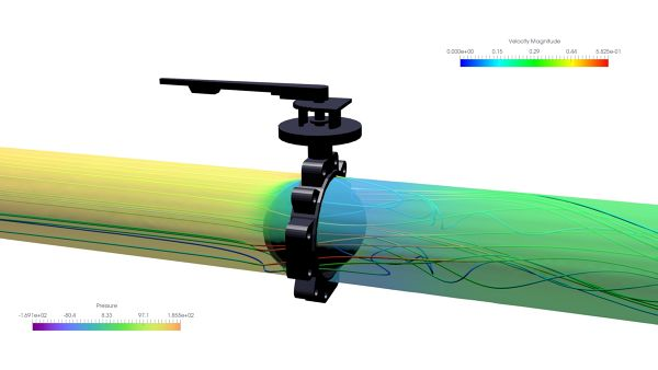 Butterfly-Valve-Simulation-ANSYS-CFX-Velocity-Streamlines-Pressure-Surface-Plane--FetchCFD.jpg