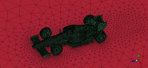 Formula-One-F1-Race-Car-Mesh-for-CFD-Simulation-ANSYS-ICEM-FetchCFD-View-2.JPG