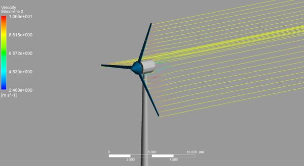 Wind Turbine ANSYS CFX Velocity Streamlines 2.jpg