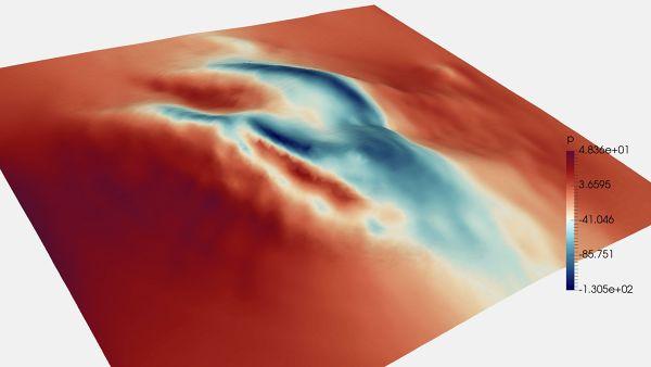 CFD-Simulation-Over-Hill-OpenFOAM-Pressure-Contour-FetchCFD.jpg