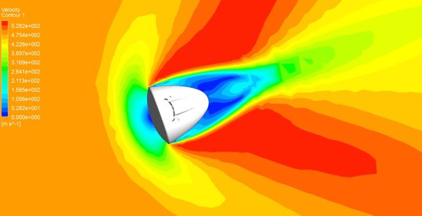SpaceX-Dragon-CFD-Simulation-ANSYS-CFX-Velocity-Contour-FetchCFD.jpg