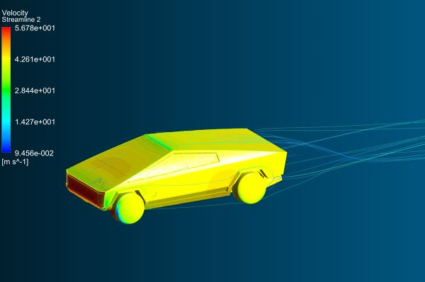 Tesla-Cybertruck-Aerodynamics-Analysis-Simulation-Velocity-Streamlines-FetchCFD-Iso-View-30mps.jpg