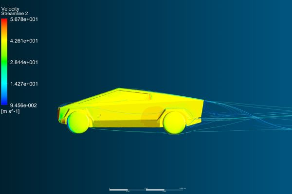 Tesla-Cybertruck-Aerodynamics-Analysis-Simulation-Velocity-Streamlines-FetchCFD-Side-View-30mps.jpg