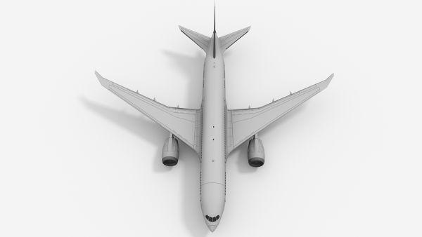 Boeing-787-Dreamliner-3D-Model-Blender-3D-Render-FetchCFD-Image-Top-View.jpg