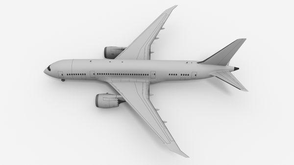Boeing-787-Dreamliner-3D-Model-Blender-3D-Render-FetchCFD-Image-Top-View-2.jpg