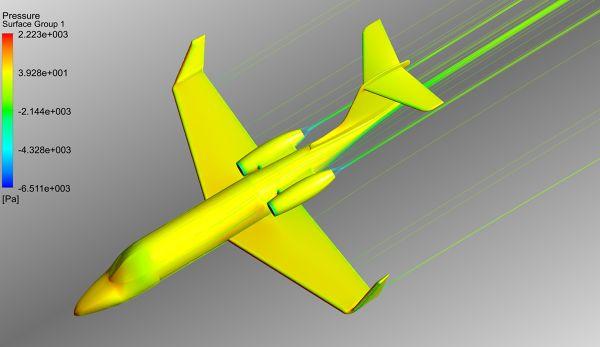 Simulation-Learjet-Pressure-Contour-Velocity-Streamlines-FetchCFD-Image-2.jpg