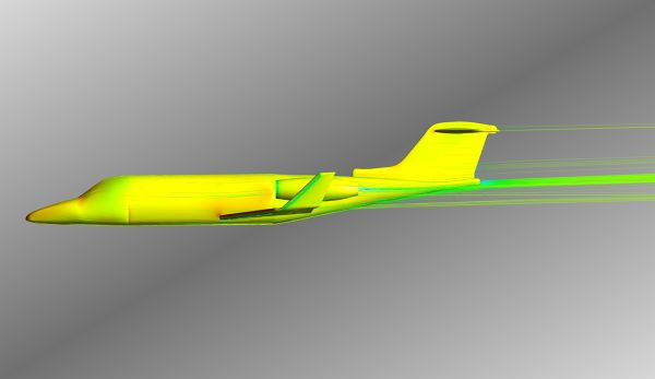 Simulation-Learjet-Pressure-Contour-Velocity-Streamlines-FetchCFD-Image-Side-View.jpg