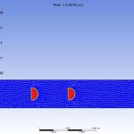 Horizontal bubbly flow 2