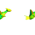 Pokemon: Latios vs Latias Aerodynamic Analysis