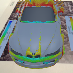 BMW Z3 External Fluid Dynamics - Augmented Reality Visualization