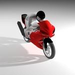 Motorbike 3D Model
