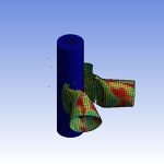 High Speed Impact: Finite Element Analysis