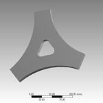 Triangular Plate CAD