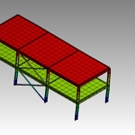 FEA simulation Simple Building 2