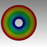 FEA Simulation Compact Disk with ANSYS Mechanical