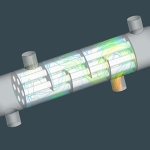 Tutorial | Shell & Tube Heat Exchanger CFD Simulation with ANSYS CFX
