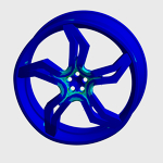 Car Wheel Structural Analysis Using FEA