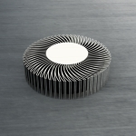 Radial Curved Heat Sink CAD model for Thermal Analysis