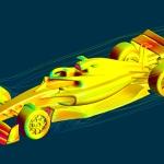 F1 2021 Aerodynamics | CFD Simulation