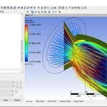 Simulation of flow inside Bell-Shaped and Conical Converging Diverging Nozzles