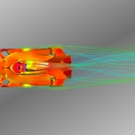 Computational Fluid Dynamics (CFD) of Formula E 2018 Race Car