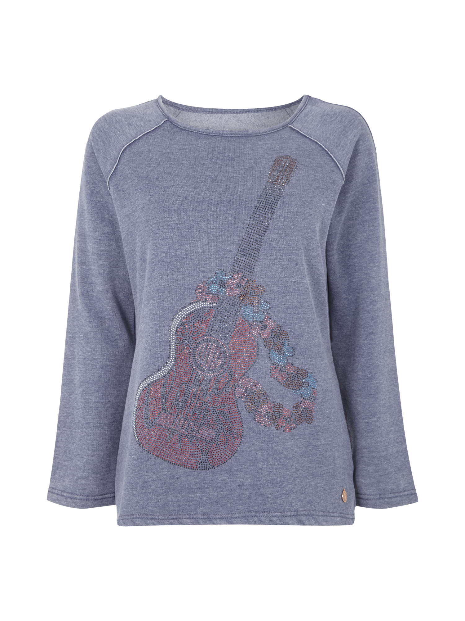 LIEBLINGSSTUECK Sweatshirt mit Zierstein-Besatz in Blau   Türkis online  kaufen (9207031) ▷ P C Online Shop 0389d05bb9
