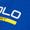 Polo Sport Schirmmütze mit gummiertem Logo-Print Royalblau - 1