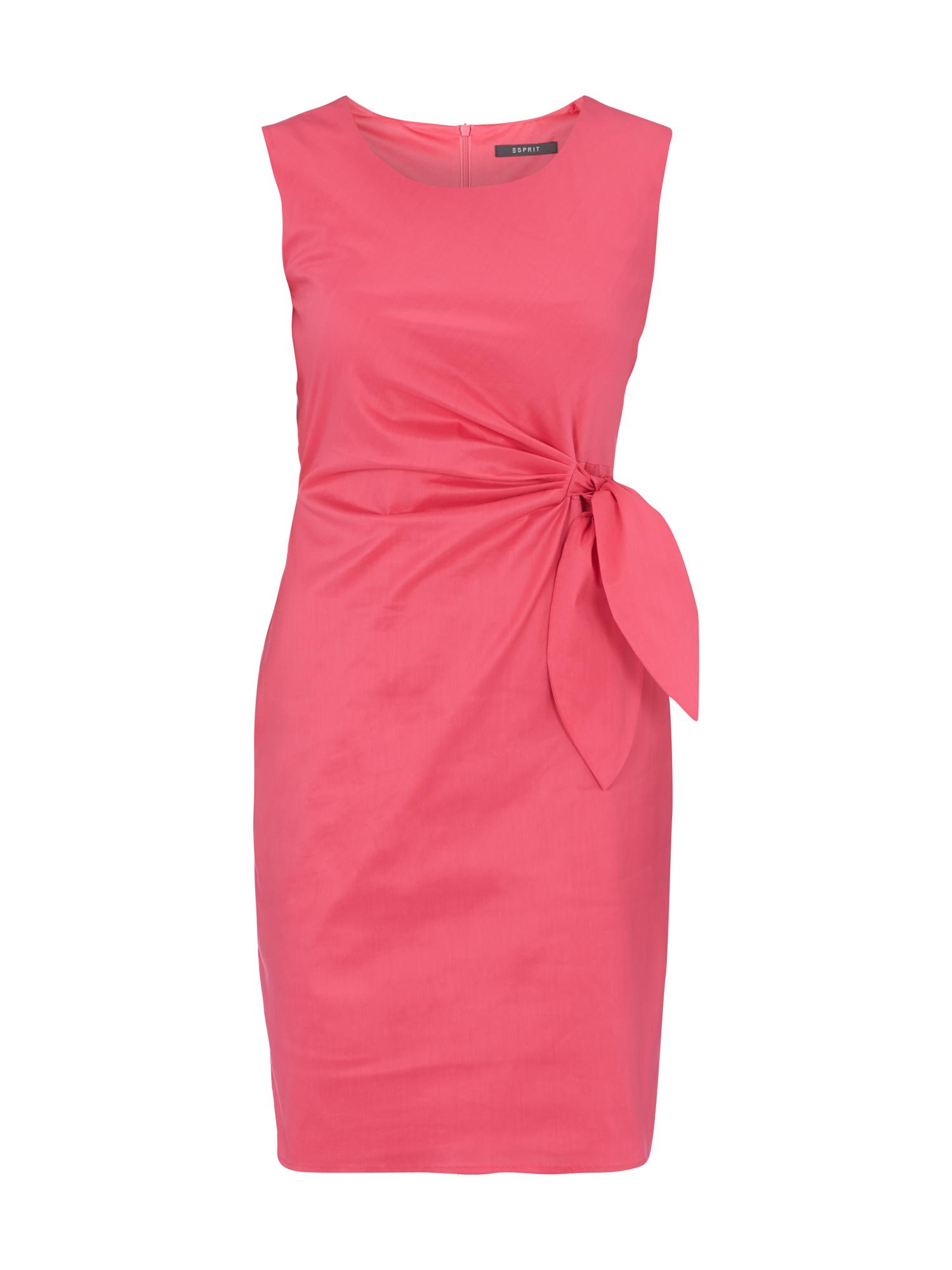ESPRIT COLLECTION Kleid mit fixiertem Band zum Binden in