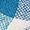 Seeberger Trilby aus mehrfarbigem Papierstroh Royalblau - 1