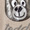 Frog Box Poncho mit Teddybär-Motiv aus Pailletten Sand meliert - 1
