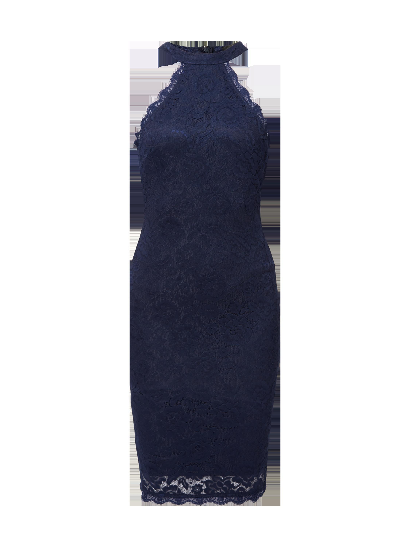 AX-PARIS Cocktailkleid aus floraler Spitze in Blau   Türkis online kaufen  (9768342) ▷ P C Online Shop Österreich 65341dd406