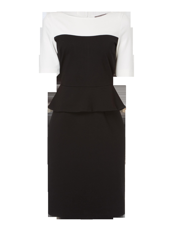 Schwarzes kleid mittellang
