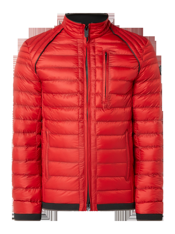 Wellensteyn – Funktionsjacke 'Uni Redmetall' mit Stehkragen – Rot