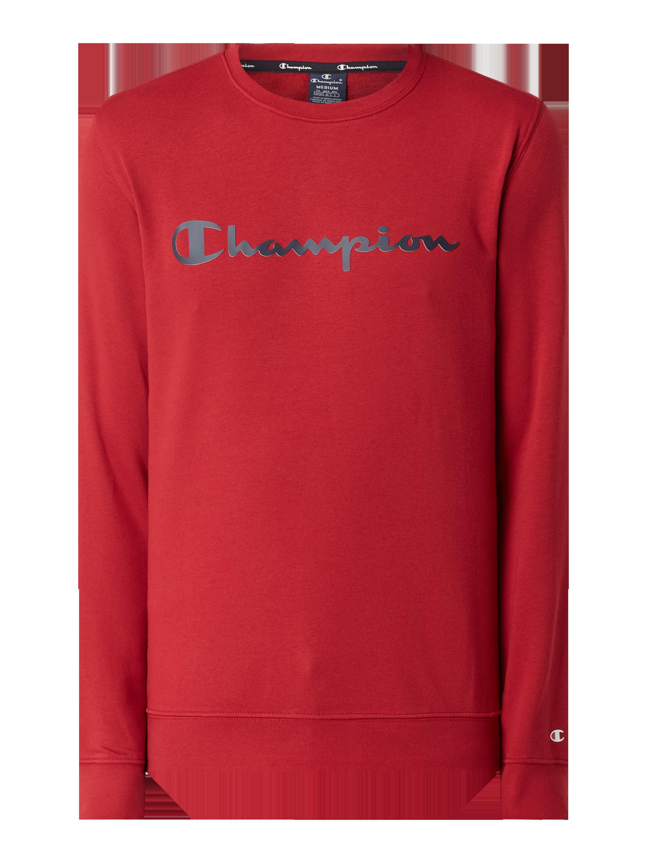 CHAMPION Sweatshirt mit Logo in Rot online kaufen (1164028