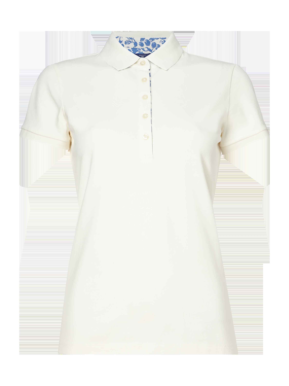 8d679203e72d GANT Poloshirt aus Piqué mit Stretch-Anteil in Weiß online kaufen (9550593)  ▷ P C Online Shop
