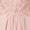 Luxuar Abendkleid mit Stola und Ziersteinen Rosé - 1