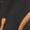 Boss Orange Schal mit künstlerischem Kreismuster Schwarz - 1