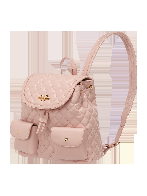 a732eac6a03ee LOVE-MOSCHINO Plecak z pikowanym wzorem w kolorze Ciemnoróżowy zakupy  online (9768745) w P&C ▷ wysyłka i zwrot 0zł