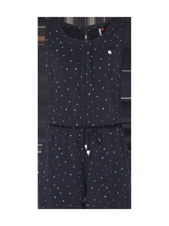 Ragwear – Kombinezon z drapowaniem, – Ciemnoniebieski