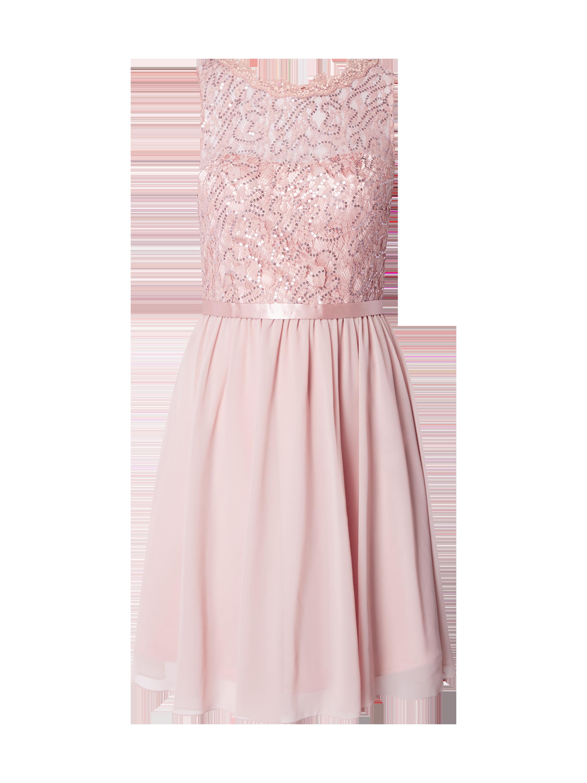 LAONA Cocktailkleid mit floraler Spitze in Rosé online kaufen