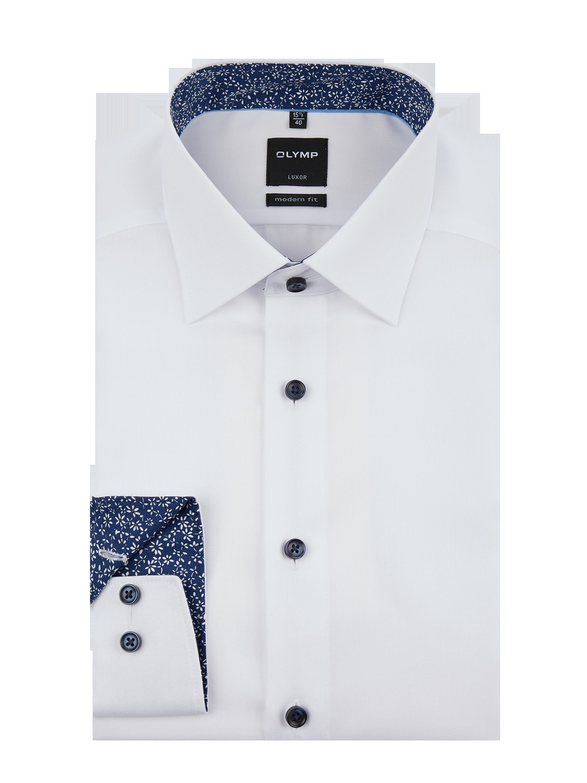 f60bd2a83 OLYMP Koszula Luxor o kroju modern fit z kołnierzykiem new kent w kolorze  Biały zakupy online (9907345) w P&C ▷ wysyłka i zwrot 0zł