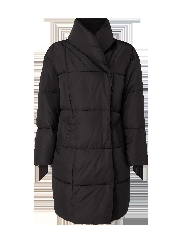 Płaszcz pikowany o kroju egg shaped – watowany