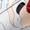 adidas Originals Sneaker aus Leder mit künstlerischem Print Weiß - 1
