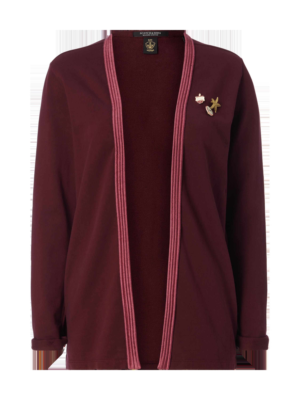 SCOTCH-SODA Cardigan mit Ansteckern in Rot online kaufen (9673250) ▷ P C  Online Shop Österreich 8e13409cce