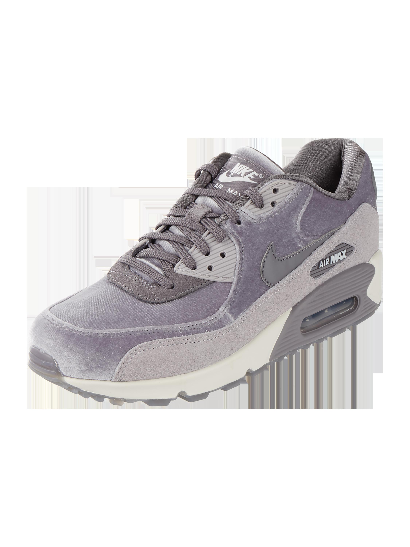Max Nike Mittelgrau aus – 'Air Veloursleder und Samt Sneaker – LX' 90 WEH29YID